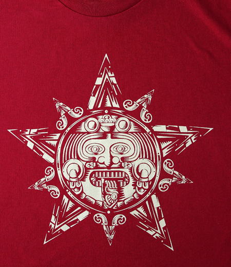 Firme Clothing | Aztec Star Red