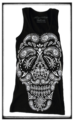 Firme Clothing | Paisley Calavera Tank Top