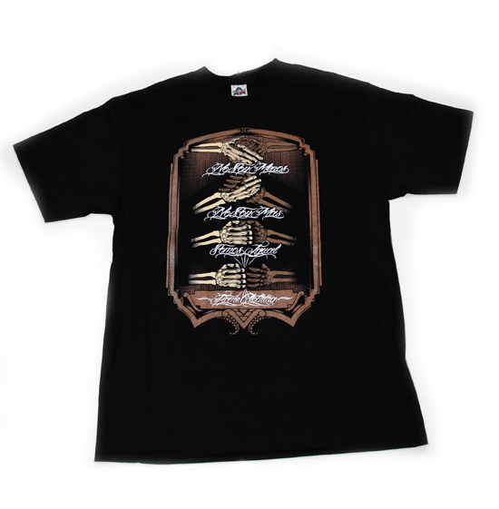 FIRME HANDSHAKE Black T-Shirt by Firme Clothing