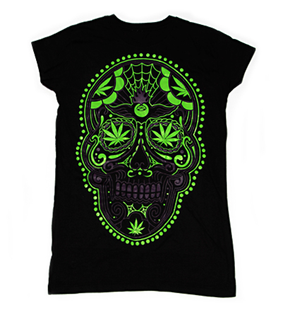 Girls' 420 Day of the Dead Tee