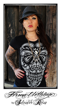 FIRME CLOTHING | Firme Calavera Girls Graphic Tee