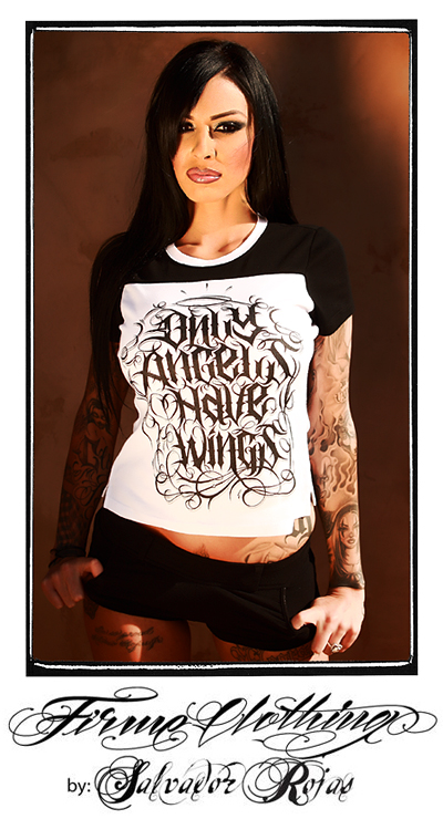 Only Angels Have Wings by FIRME CLOTHING