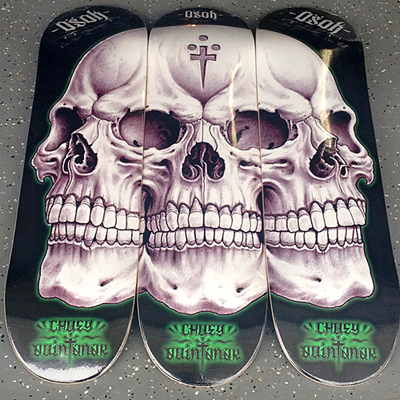 OSOK and Chuey Quintanar Skate Decks