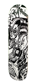B-BOY Skate Deck by Raw Materials